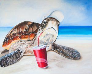 Animal social 5 : tortue de mer
