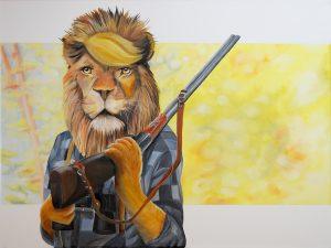 Animal social Lion